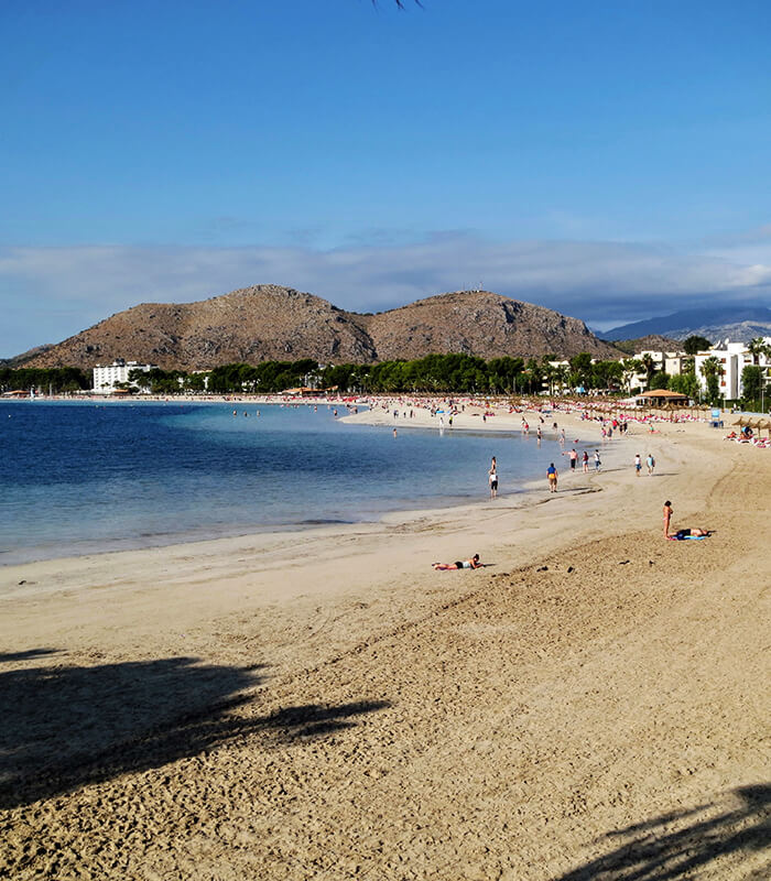 Privately Owned Apartments: Carabela Beachside Apartments, Alcudia Majorca